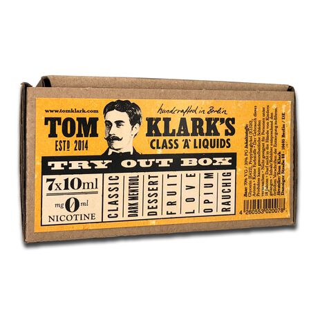 Tom Klark 7 x 10ml Probierset 12mg