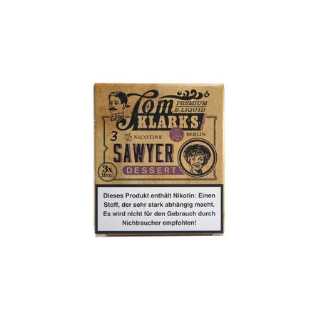 Kopie von Tom Klarks - Tom Sawyer DESSERT 3 x 10 ml Box 0mg