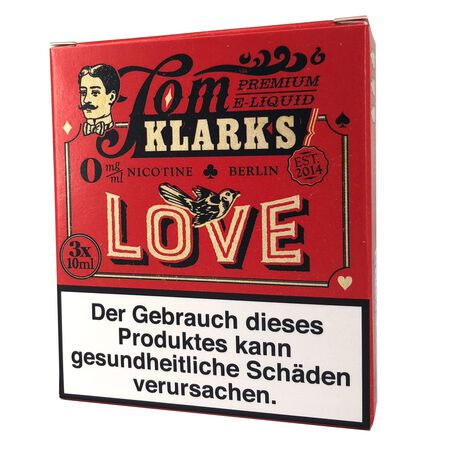 Tom Klarks - LOVE 3 x 10 ml Box 0mg