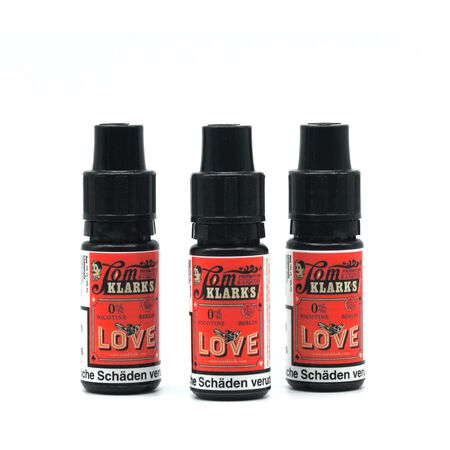 Tom Klarks - LOVE 3 x 10 ml Box 6mg