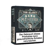 Tom Klarks - DARK MENTHOL 3 x 10 ml Box